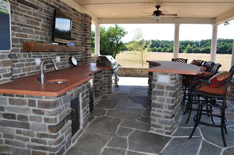 covered outdoor kitchen plans 22 outdoor kitchen bar designs decorating ideas design