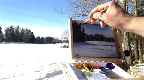 plein air paintings from paint snow hill featured in may plein air painting adventures 015 pine trees sketch
