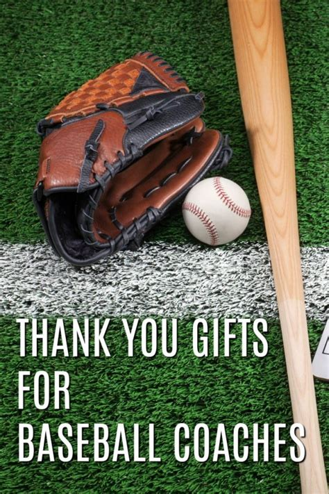 unique gifts for baseball 20 thank you gift ideas for baseball coaches unique gifter