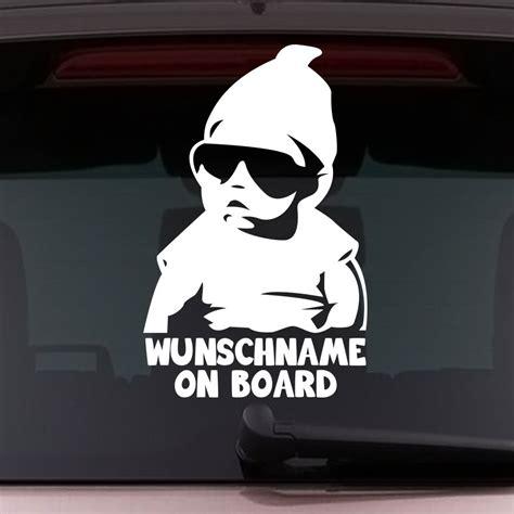Baby An Bord Aufkleber Sinnvoll by Baby On Board Autoaufkleber Sticker Wenn Dann Bitte So