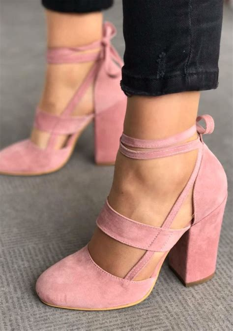 pink high heeled boots best 25 pink shoes ideas on shoes