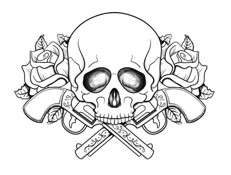 skull coloring pages for adults free printable skull coloring pages coloring home