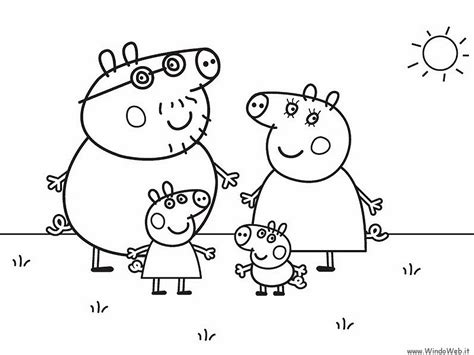 Nick Jr Coloring Pages Peppa Pig | nick jr peppa pig coloring pages coloring pages