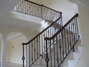 Interior Stair Banisters Colonial Iron Works Iron Interior Handrails