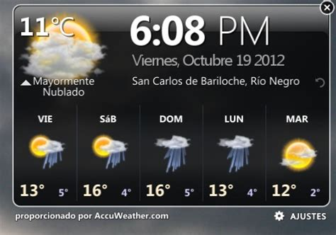 widget imagenes html accuweather dell widget para el escritorio de tu windows 7