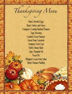 thanksgiving menu planner template thanksgiving dinner menu template thanksgiving dinner