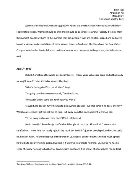 Mega Essays by Ap Mega Essay