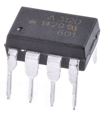 Hcpl 3120 A3120 Dip Optocoupler hcpl 3120 000e avago hcpl 3120 000e dc input phototransistor output optocoupler through