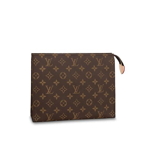 toiletry pouch  monogram canvas travel louis vuitton