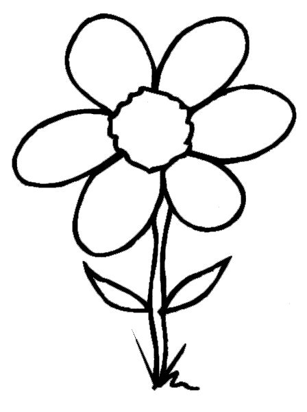 Flower Coloring Pages 2 Coloring Pages To Print Flower Coloring Pages