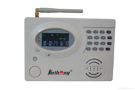 gsm alarm system kh8808 kaihong china manufacturer