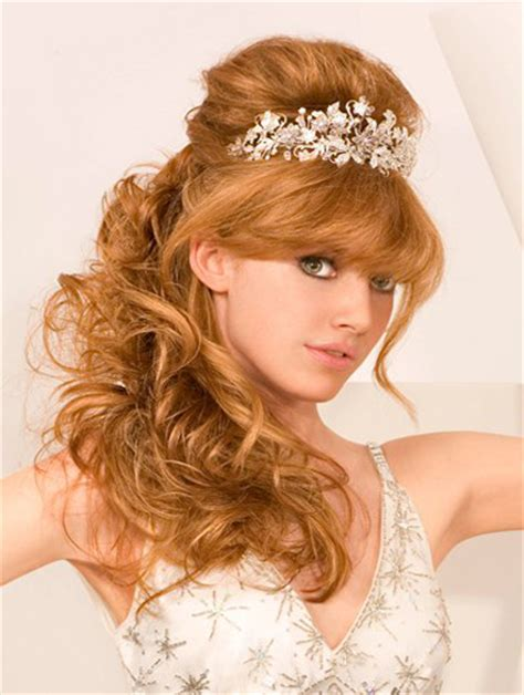 half up half down wedding hairstyles long hair ideas on long half up and half down wedding hairstyles