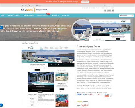 travel wordpress themes free premium templates