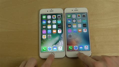 iphone 6s ios 10 beta 1 vs iphone 6s ios 9 3 2 which is faster
