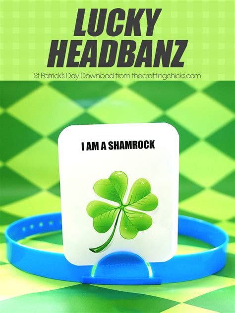 hedbanz cards template lucky hedbanz the crafting