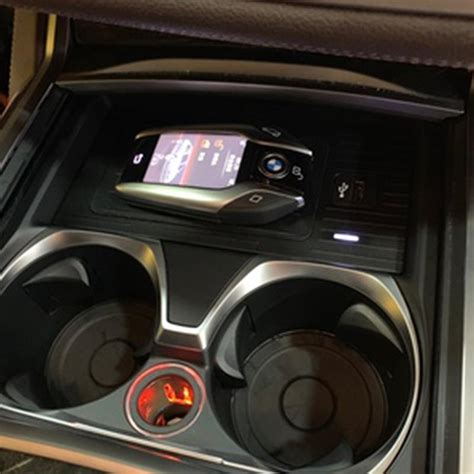 wireless phone charger bmw wireless charging  series
