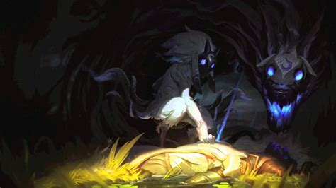 kindred lamb   wolf lol champion voice youtube