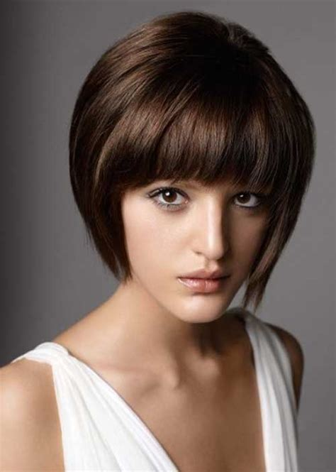womans short hairstyle for thick brown hair 20 short straight hair for women short hairstyles 2016