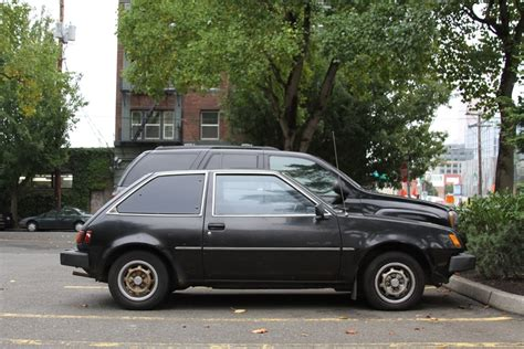 plymouth hatchback parked cars 1982 plymouth ch hatchback