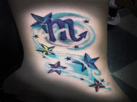 scorpio star sign tattoos designs colorful galaxy for page 2 pics about space
