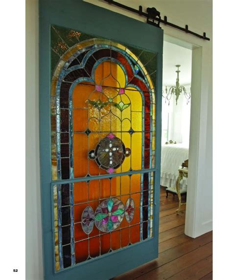 Stained Glass Sliding Doors Stained Glass Sliding Door For My House Pinterest