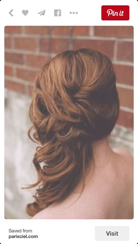 side curls hairstyles 1000 ideas about side curls on side