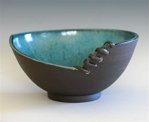Handmade Pottery Bowl - unique pottery bowl handmade ceramic modern bowl pottery