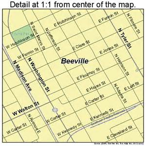 map of beeville beeville map 4807192