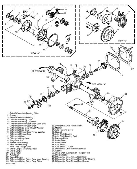 diagram of rear differential chevy blazer 4x4 rear differential diagram get free