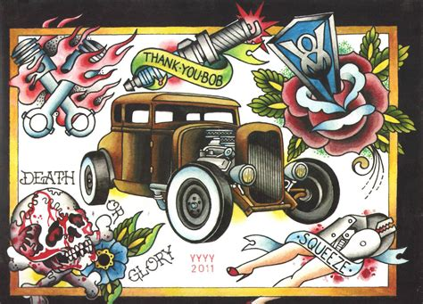 rat rod tattoos designs il fullxfull 387586013 y9ol jpg 1500 215 1082