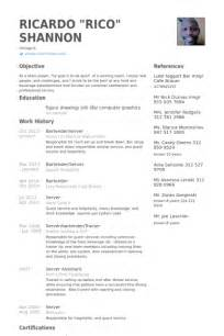 bartender resume samples visualcv resume samples database
