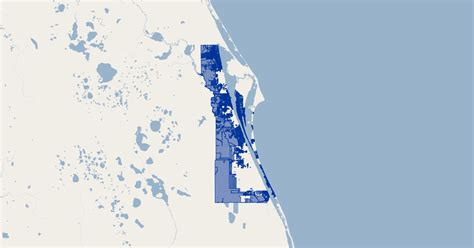 brevard county florida zoning gis map data brevard