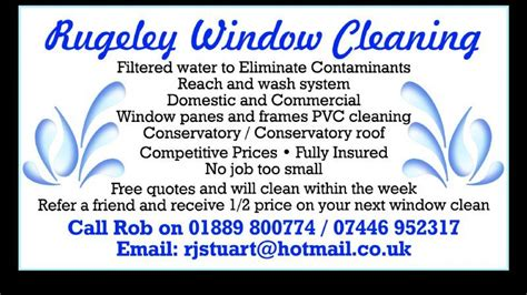 drapery cleaning costs rugeley window cleaning window cleaner in rugeley uk