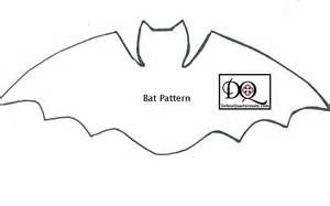 bat template printable 5 best images of bat pattern printable bat cut