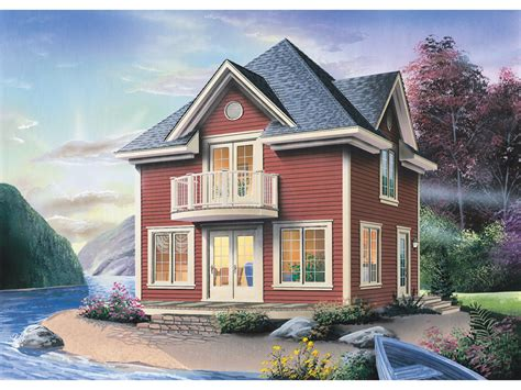 House Plans With Balcony On Second Floor by Harrison Valley Narrow Lot Home Plan 032d 0505 House