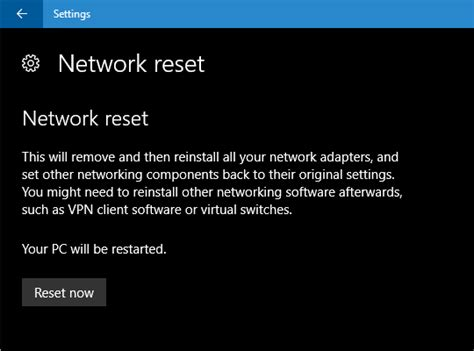 resetting wifi settings windows 10 how to reset network settings in windows pc advisor