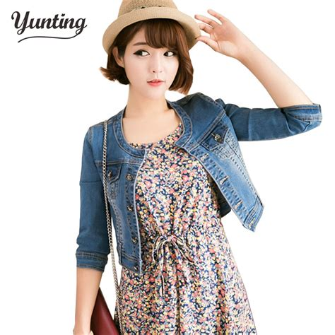 are jean jackets in style for spring 2014 newhairstylesformen2014 new arrival spring antumn short denim jackets vintage