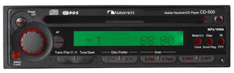 Nakamichi Cd 500 Headunit Sound Quality New Stock cd 500