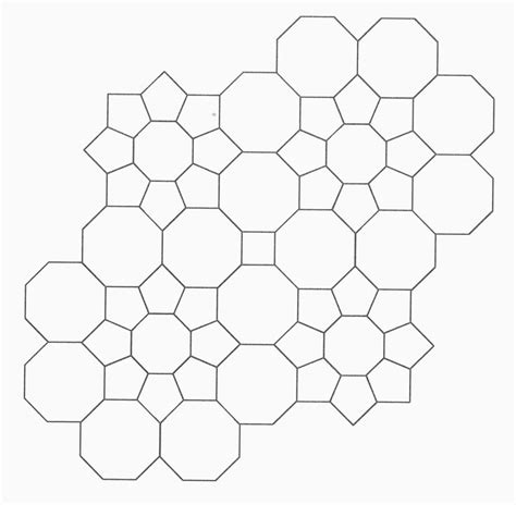 octagon template for quilting from pretty and useful an awesome octagon based design
