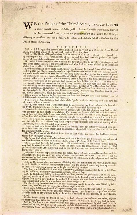 Us Constitution Section 1 by Best Photos Of United States Constitution Text
