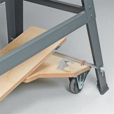 mobile bases for woodworking equipment table saw mobile base diy crafts