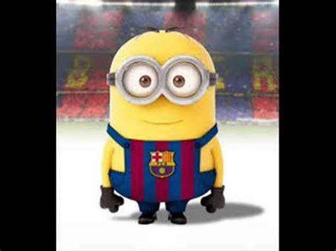 imagenes de minions en la escuela los minions futbolistas parte 2 barcelona youtube