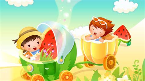 House Design Games Barbie by Kids Cartoon Wallpaper 7748 1366 X 768 Wallpaperlayer Com