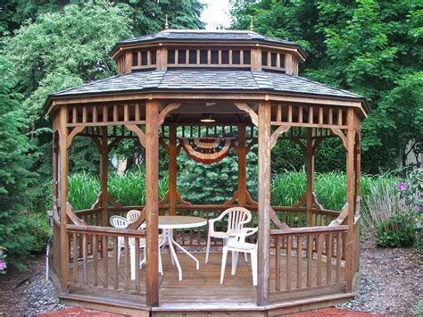 garden screened gazebo kits amazing gazebo for small