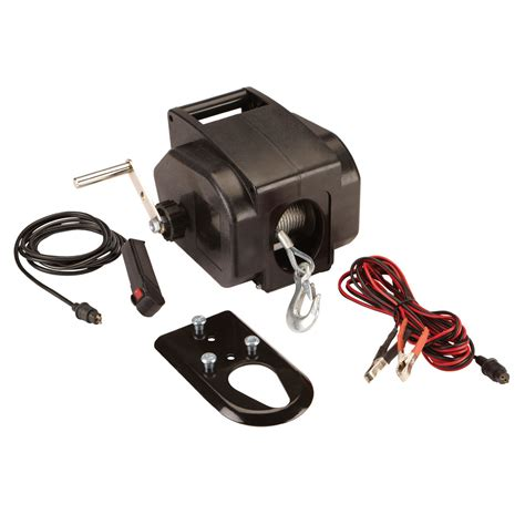 electric boat winch harbor freight 2000 lb marine electric winch