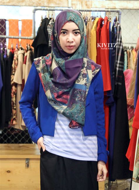 Jilbab Ootd 3 gaya ootd ala hijabers