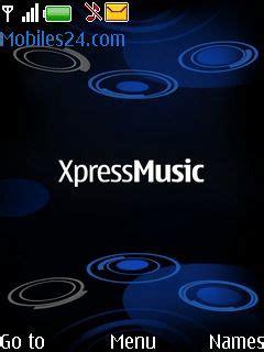 xpressmusic blue themes nokia xpressmusic blue free nokia series 40 3rd edition