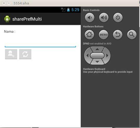 relativelayout adalah android sharedpreferences exle