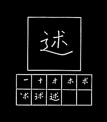 tattoo huruf kanji dan artinya belajar huruf kanji jepang 71 述術準序招承証条状常 belajar