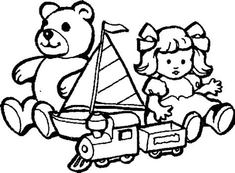 Toy Colouring Page Clipart Best Coloring Pages Toys